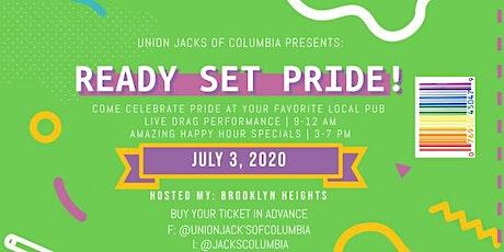 Union Jacks of Columbia  2020 Pride tickets