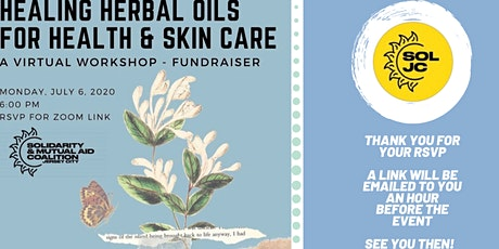 Healing herbal oils for health & skin care tickets