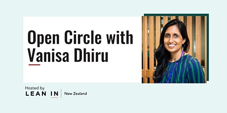 Lean In NZ Open Circle with Vanisa Dhiru tickets