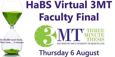 2020 HaBS Virtual 3MT Faculty Final tickets