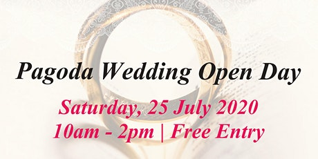 Pagoda Wedding Open Day 2020 tickets