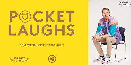 Pocket Laughs - July Edition tickets