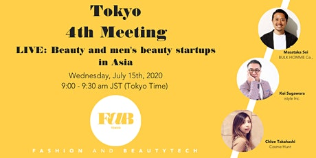 """FaB Tokyo """"Beauty and Men's Beauty Startups in Asia"""" tickets"""