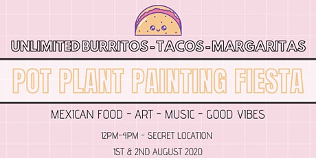 Mexican Pot Plant Painting Fiesta SECRET LOCATION tickets