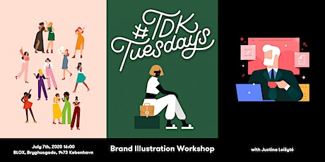 Brand Illustration workshop - #TDKtuesdays Copenhagen tickets