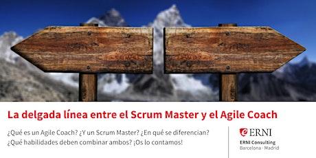 La delgada línea entre el Scrum Master y el Agile Coach entradas