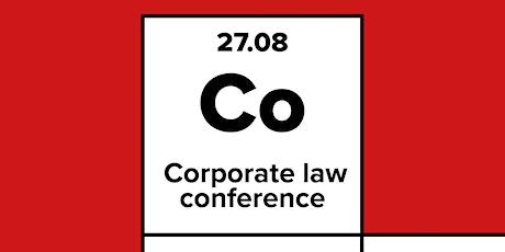 Corporate Law Conference entradas