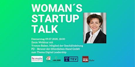 Women's Startup Talk #3 – Digital Leadership Tickets