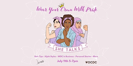 She Talks: Wear Your Crown With Pride tickets