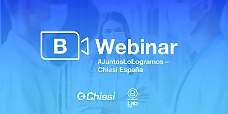 #JuntosLoLogramos - Chiesi España entradas