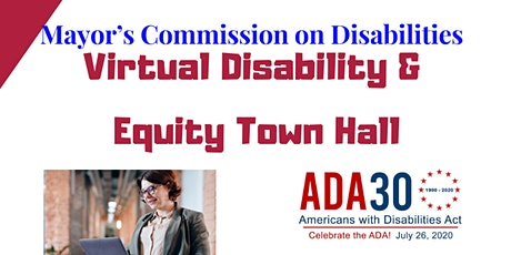 Disability and Equity Town Hall tickets