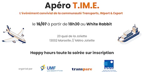 Apéro TIME #2 : Transport , IMport-Export billets