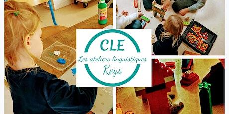 Stage d'anglais primaire CLE Keys billets