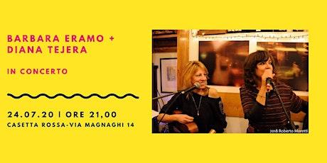 Barbara Eramo & Diana Tejera in concerto biglietti