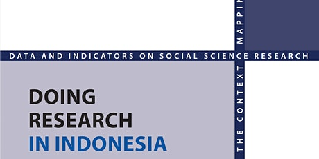 Doing Research in Indonesia: bridging the research gap tickets