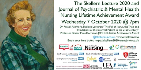 The Skellern Lecture 2020 and JPMHN Lifetime Achievement Award tickets