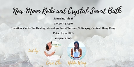 New Moon Reiki and Crystal Sound Bath Meditation Experience tickets