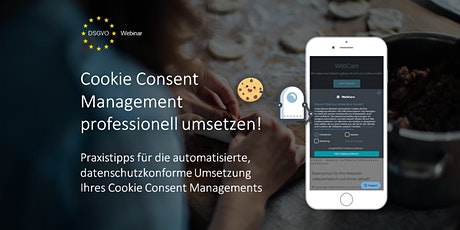 Cookie Consent Management professionell umsetzen! Tickets