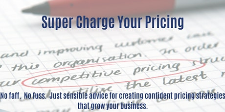 Supercharge Your Business - Supercharge Your Pricing tickets