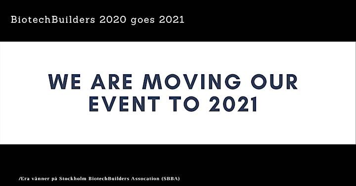 BiotechBuilders 2020 - Nätverksevent på temat AI! *FLYTTAT TILL 2021* bild