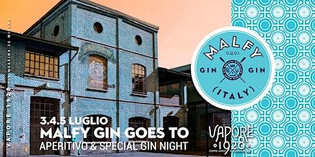 MALFY GIN goes to  Vapore 1928 | Aperitivo & Cocktail Night biglietti