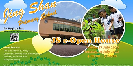 Jing Shan Primary School e-Open House tickets