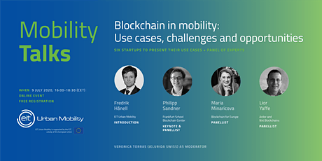 Blockchain in Mobility:  Use cases, challenges and opportunities tickets