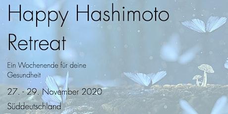Happy Hashimoto Retreat November Tickets