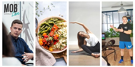 MobGroup Live - Daily Mindset, Workouts and Cookalongs - W/C 6th July tickets
