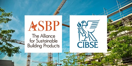ASBP & CIBSE Webinar: Embodied Carbon and Building Services biglietti