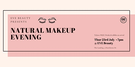 Natural Makeup Education Evening tickets