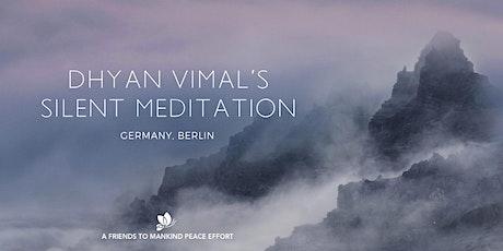 Online DV Silent Meditation (billingual ES-EN) billets