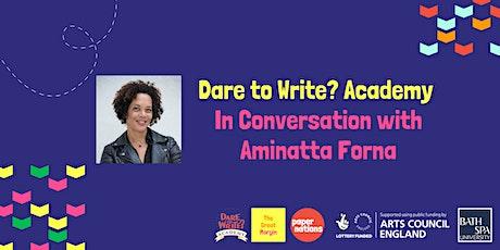 In Conversation with Aminatta Forna tickets