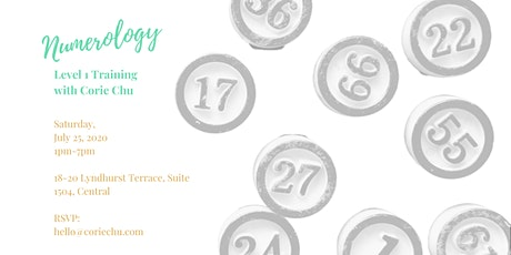 Numerology For Beginners (Level 1 Training in Hong Kong) tickets
