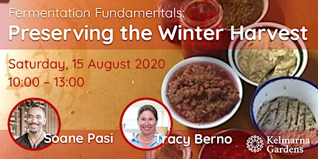 Fermentation Fundamentals - Preserving the Winter Harvest tickets