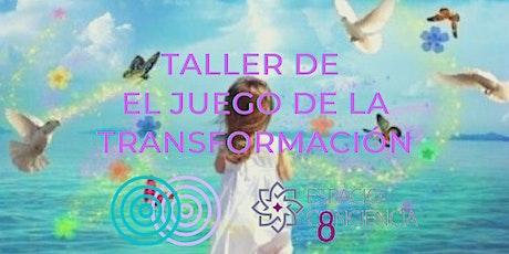 TALLER EL JUEGO DE LA TRANSFORMACIÓN CON JULIA JANE TINNEY entradas