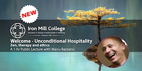 Welcome - Unconditional Hospitality with Manu Bazzano (1-hr Public Lecture) tickets
