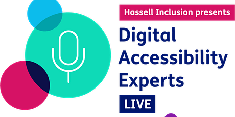 Digital Accessibility Experts Live: Oct & Nov 2020