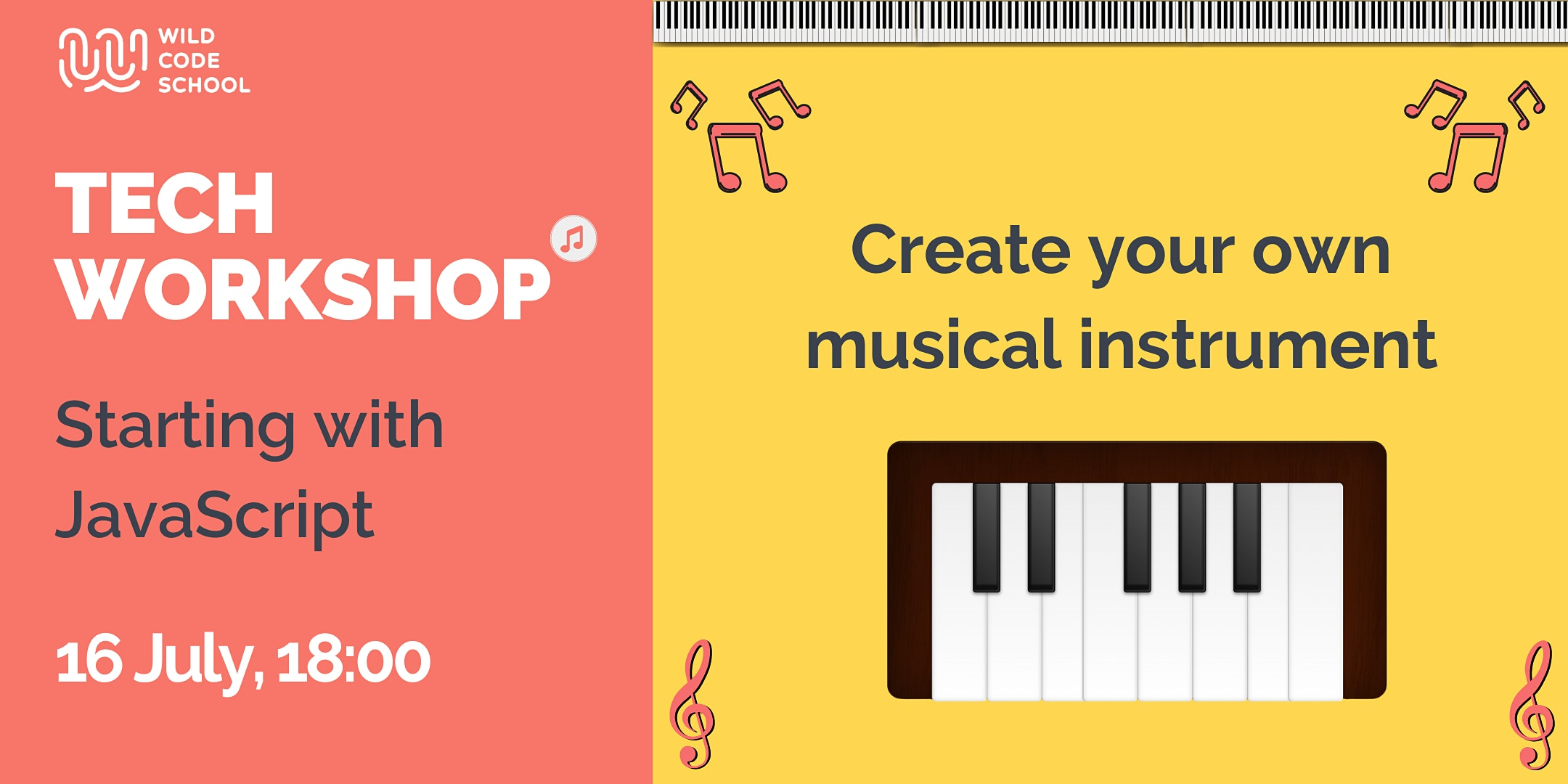 Tech Workshop |JavaScript| Create your own musical instrument!