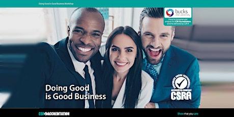 Webinar: Planning CSR as part of an Organisations Business Strategy tickets
