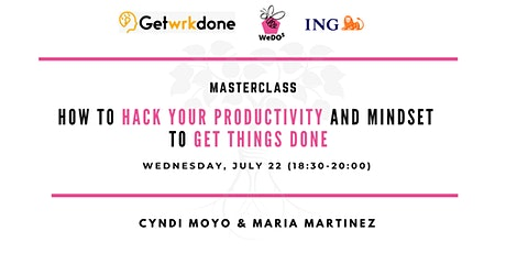 How to hack your productivity and get things done tickets