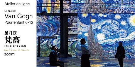 Cours de peinture en ligne- Van Gogh tickets