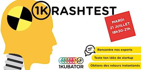 1krashTest - Viens challenger ton idée de startup face à des experts billets