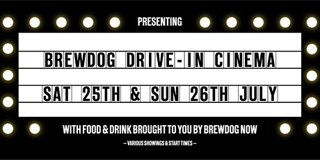 BrewDog's Ellon Community Drive-In presents: Back to the Future tickets