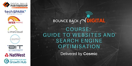 Bounce Back Digital Series: Guide to Websites & Search Engine Optimisation tickets