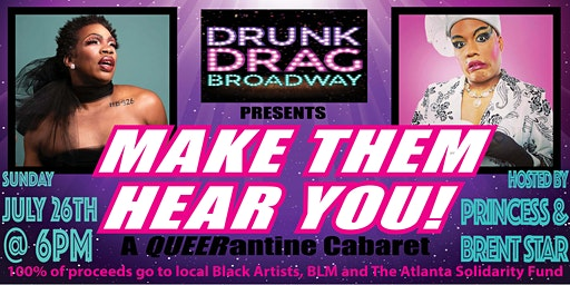 Drunk Drag Broadway: A QUEERantine Cabaret