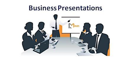 Business Presentations 1 Day Training in Sacramento, CA tickets