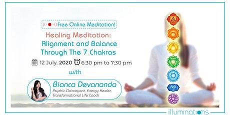 Free Online Meditation! Healing Meditation: Alignment & Balance tickets