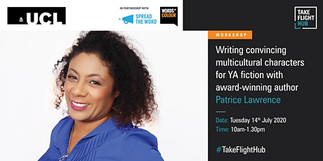 Writing multicultural characters for YA fiction with Patrice Lawrence tickets