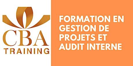 Formation en Gestion de Projets et Audit Interne billets